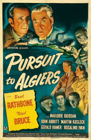 pursuit to algiers extra large movie poster image imp awards