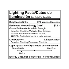 65 Watt Flood Light Philips 248872 Soft White 65 Watt Br30 Indoor Flood Light Bulb
