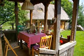 campsite in traditional maramures