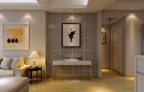 black varnished wooden tv cabinet dark asian korean interior