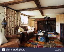 Country Living Room by Crewelwork Stock Photos U0026 Crewelwork Stock Images Alamy