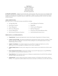 Resume Summary Statement Example by Criminology Personal Statement