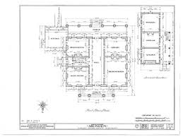 plantation floor plans the arlington natchez southern style houses southern