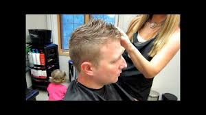 how to cut men u0027s short hair youtube