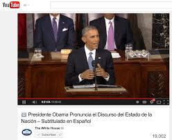 Youtube Whitehouse Latino Rebels Subtitle Hell Spanish Version Of Sotu Is
