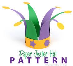 mardi gras hat party ideas by mardi gras outlet paper jester hat pattern mardi