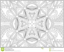 unique coloring book page for adults flower paisley design joy to