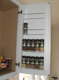 Kitchen Cabinet Door Spice Rack Zero Footprint Spice Rack Joseph Fieber