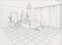 Room Sketch A Bedroom Drawing Country Style House Plan Beds Baths Sqft Plan