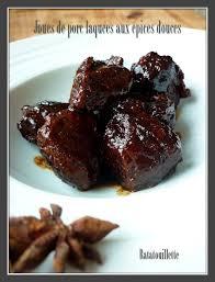 cuisiner la joue de porc joues de porc laquées aux épices douces ratatouillette