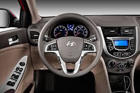hyundai accent 2012 sedan 2012 hyundai accent gls sedan interior detail in studio