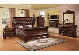 cherry 5 pc king bedroom badcock home furniture more of