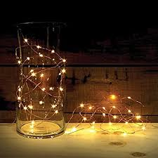battery operated lights with timer amazon com 2 sets of attav led string lights with timer battery