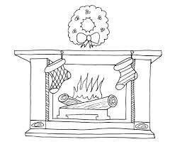bucket filling coloring pages christmas fireplace coloring pages learn to coloring