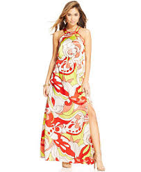 juniors printed maxi dress juniors dresses macy s