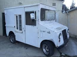 mail jeep conversion 1971 ford postal truck ice cream truck shorty step van