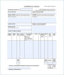 commercial invoices for exporting templates commercial invoice export publicassets us