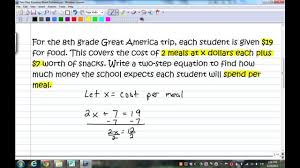 one step equation word problems answer key tessshlo