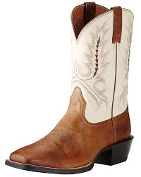 womens brown cowboy boots size 11 ariat s sport outfitter 11 square toe boots brown
