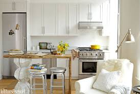 small kitchen design with island ceiling lightings white wooden small kitchen design with island ceiling lightings white wooden flooring oak hardwood flooring laminated wooden dining table built in wall glass cupboard
