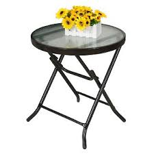 Outdoor Folding Side Table Patio Side Table Patio Tables Target