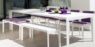 Outdoor Dining Bench by Mirthe Grand Outdoor Dining Table By Tribu Storyboard Sharpe