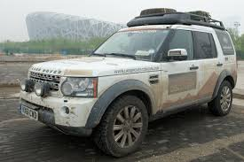 land rover discovery 3 off road land rover celebrates completion of the journey of discovery at
