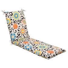 Outdoor Chaise Lounge Cushion Amazon Com Indoor Outdoor Pom Pom Play Chaise Lounge Cushion