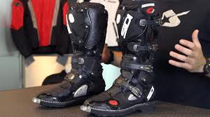 sidi motocross boots sidi crossfire boots from motorcycle superstore com youtube