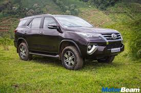 2016 toyota fortuner vs current fortuner spec comparison