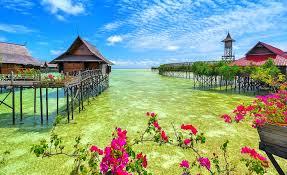 beaches malaysia beautiful tropical green lovely ocean springtime