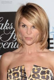 medium length swing hair cut lori loughlin with shorter hair medium length swing haircut