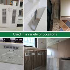 kitchen sink cabinet vent cabinet ventilation net punching cooling rectangular aluminum alloy plate ventilation grid the sink cover grill plate