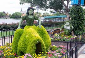Flower Area - spring means flowers with disney character at walt disney world u0027s