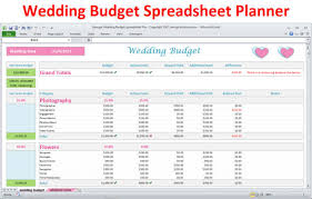 wedding budget template wedding planner budget template excel spreadsheet wedding