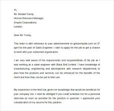 Resume For A Sales Job by Sample Sales Cover Letter Template 9 Download Free Documents In