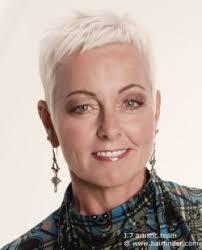 platinum hairstyles for older women platinum blonde pixie cut for older women hair pinterest