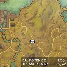 bal foyen treasure map eso shadowfen treasure image information