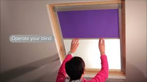 my home store how to install a skylight roof blind velux