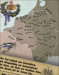 Kaiserslautern Germany Map by Natural Border Of Germany At The Seine By Arminius1871 On Deviantart
