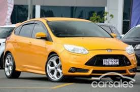 ford focus st yellow used ford focus st yellow cars for sale in australia