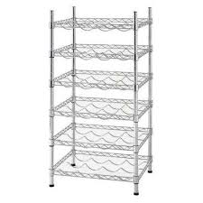 Metro Shelving Home Depot by Free Standing Racks And Shelves The Home Depot