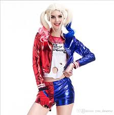 Halloween Costumes Size Cheap Arrival Luxury Harley Quinn Costumes Dhl Cosplay