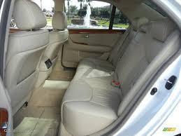 lexus ls 2005 ecru interior 2005 lexus ls 430 sedan photo 59025393 gtcarlot com