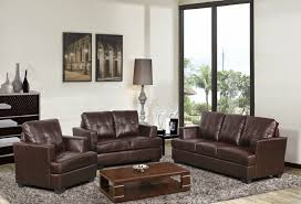 Modern Brown Leather Sofa by Brown Leather Couch