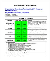 project analysis report template 14 monthly report exles sles