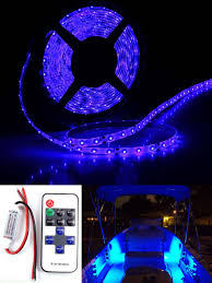 wireless waterproof led strip light kit 5m for boat truck car suv