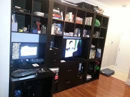 Tv Computer Desk Computer Desk Entertainment Center Combo Diy Home Pinterest