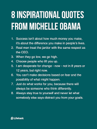 You Can T Make Someone Love You Quotes by 8 Inspirational Quotes From Michelle Obama