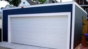 compact 2 car garage with flat roof 2 story garage pinterest